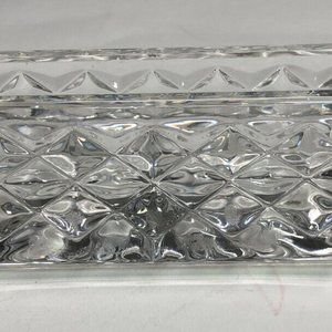 "Waterford Accents - WATERFORD CRYSTAL ""WESTOVER"" BUSINESS CARD HOLDER"
